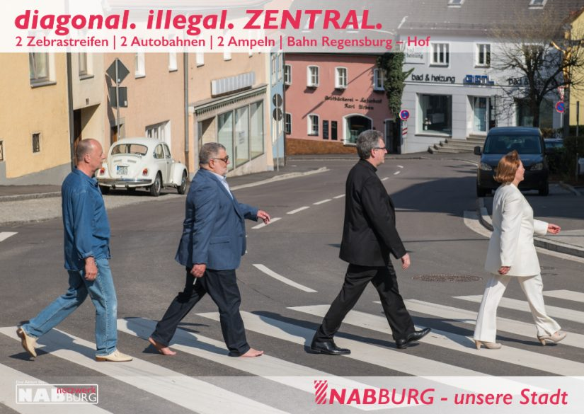 diagonal. illegal. ZENTRAL.
