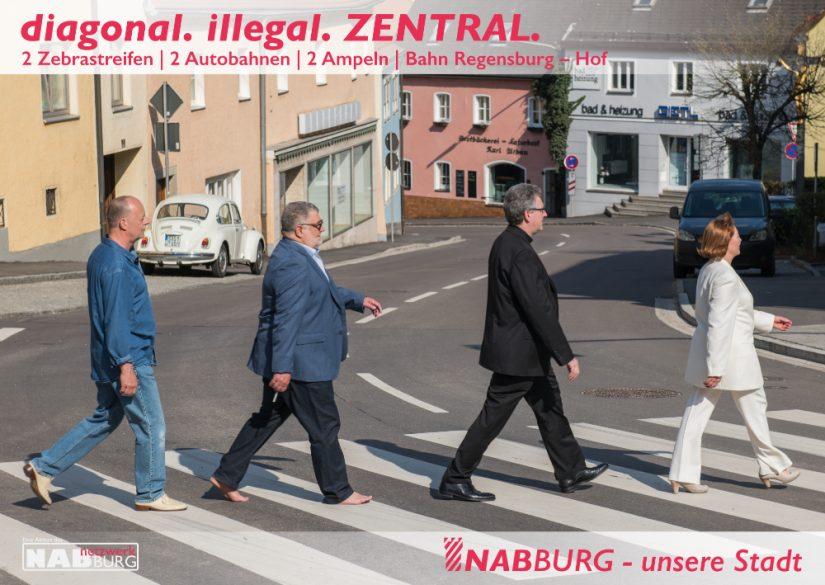 diagonal. illegal. ZENTRAL.
